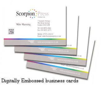 Business brochures printers leaflets booklets flyers calendars photo digitally embossed business cards reheart Choice Image